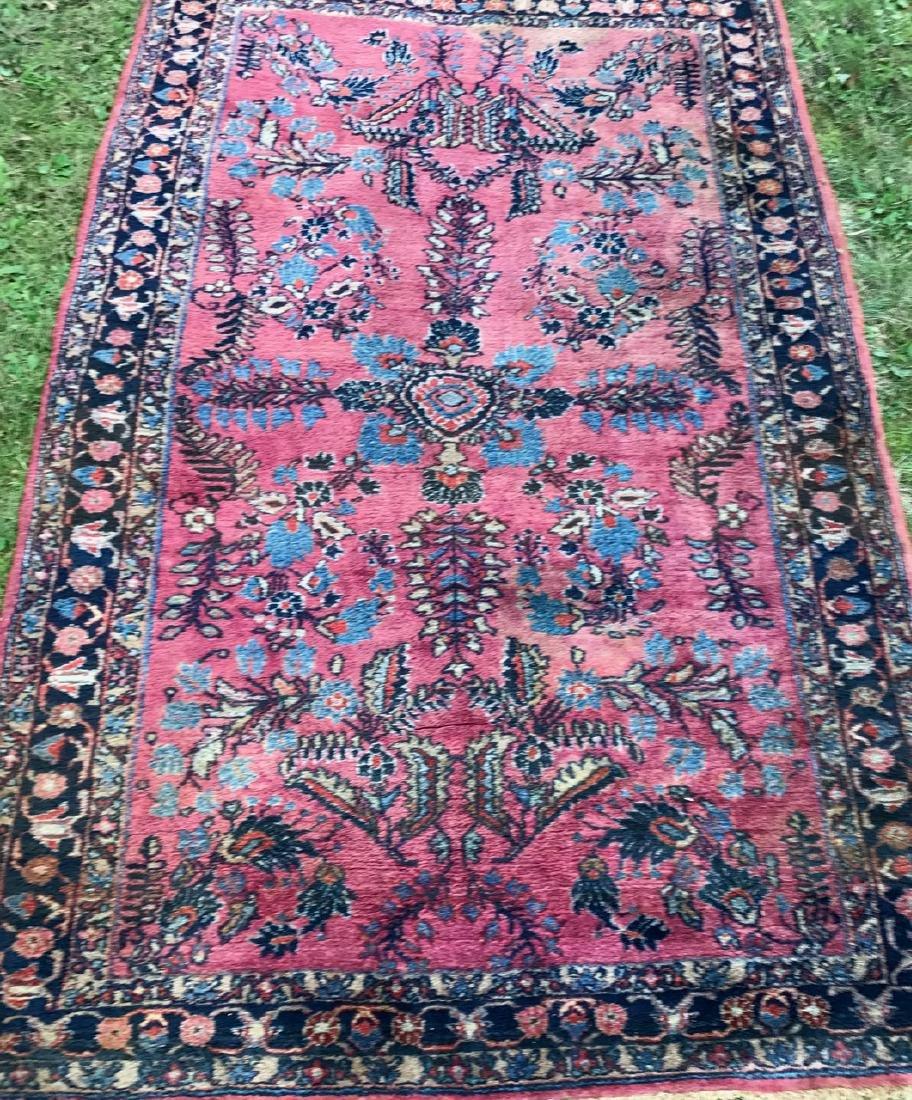"Semi-Antique Hand Woven Persian Rug, 7'4"" x 4'7"""
