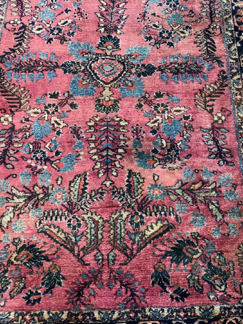 "Semi-Antique Hand Woven Persian Rug, 7'4"" x 4'7"" - 2"