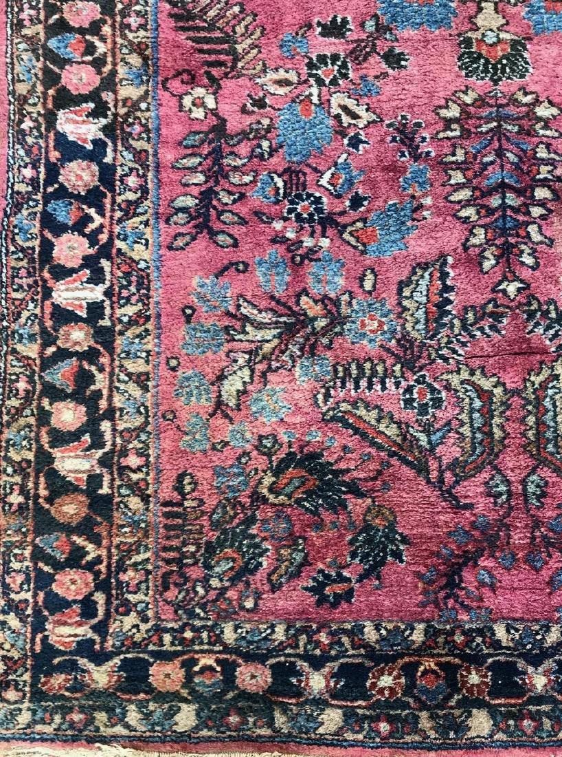 "Semi-Antique Hand Woven Persian Rug, 7'4"" x 4'7"" - 3"
