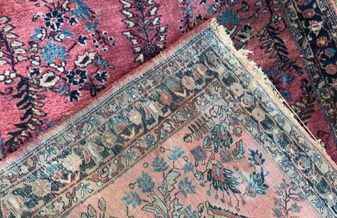 "Semi-Antique Hand Woven Persian Rug, 7'4"" x 4'7"" - 4"
