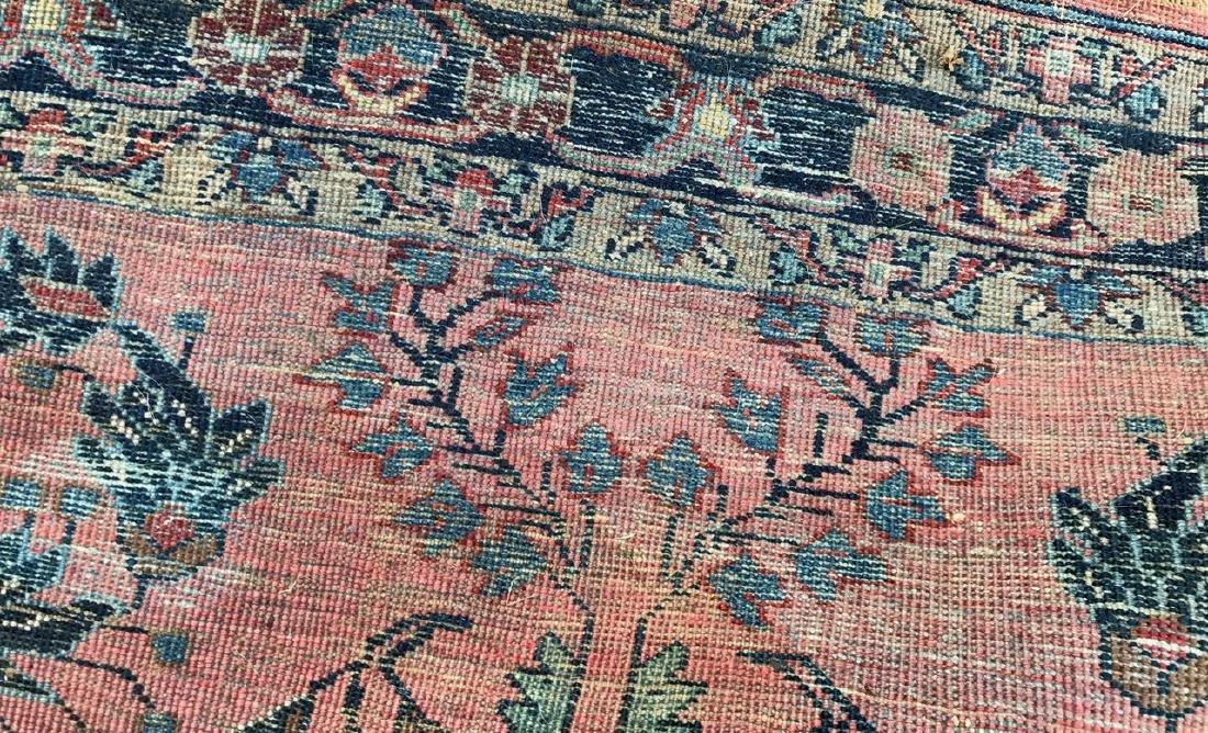 "Semi-Antique Hand Woven Persian Rug, 7'4"" x 4'7"" - 5"