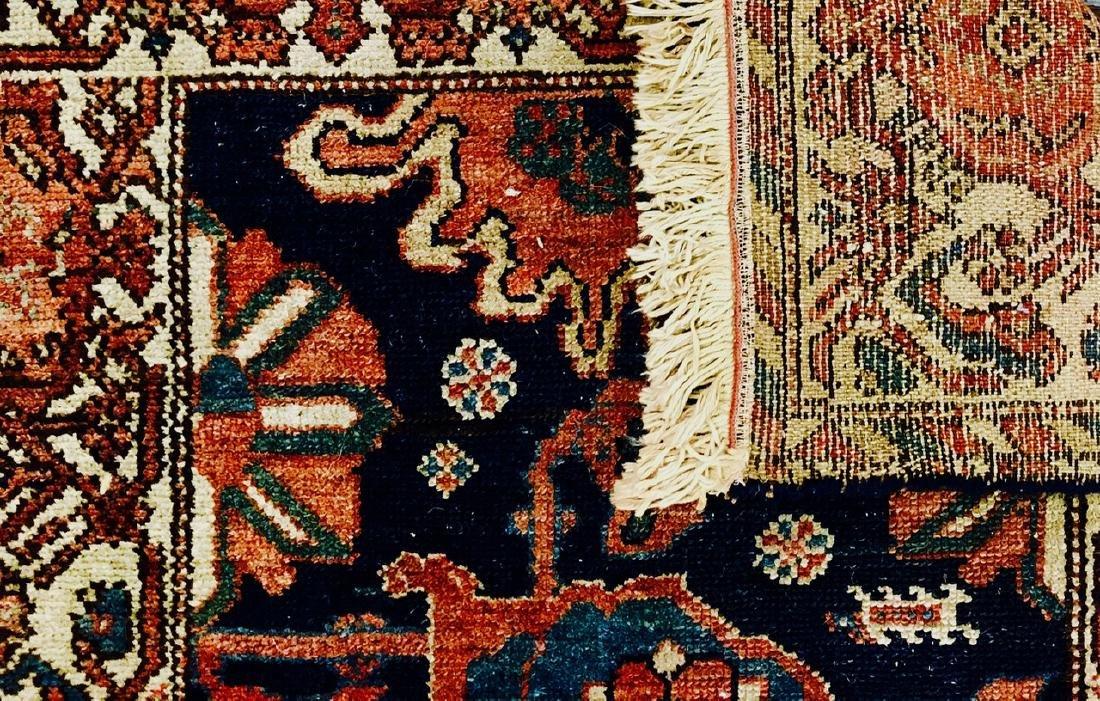 "Semi-Antique Hand Woven Persian Rug, 6'6"" - 2"