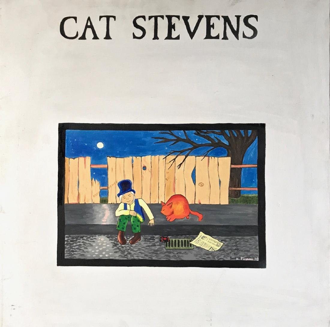 "Album Cover Art, Cat Stevens ""Teaser & The Firecat"""