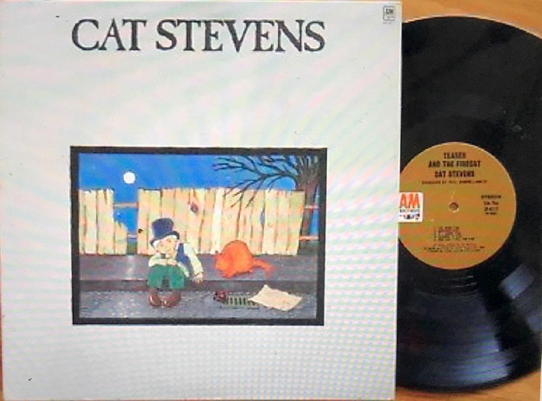 "Album Cover Art, Cat Stevens ""Teaser & The Firecat"" - 2"