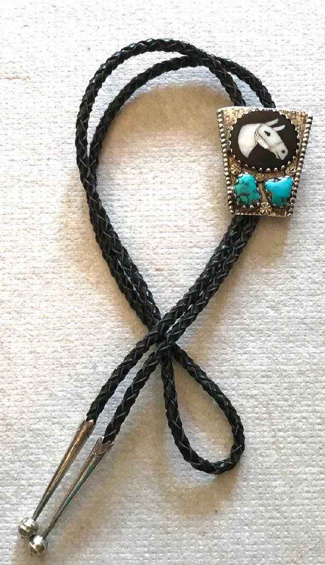 Zuni Horse Head Bolo, Isabella Simplico