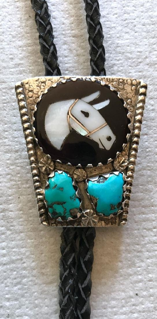 Zuni Horse Head Bolo, Isabella Simplico - 2