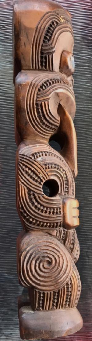 Maori Carved Wood Figural Tiki, New Zealand,1959 - 4