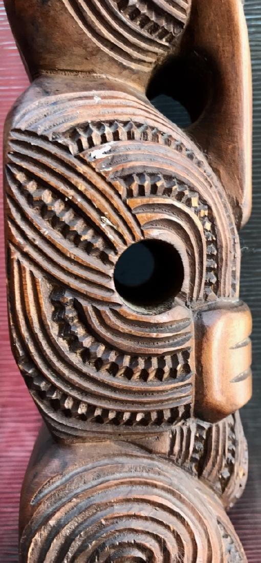Maori Carved Wood Figural Tiki, New Zealand,1959 - 5
