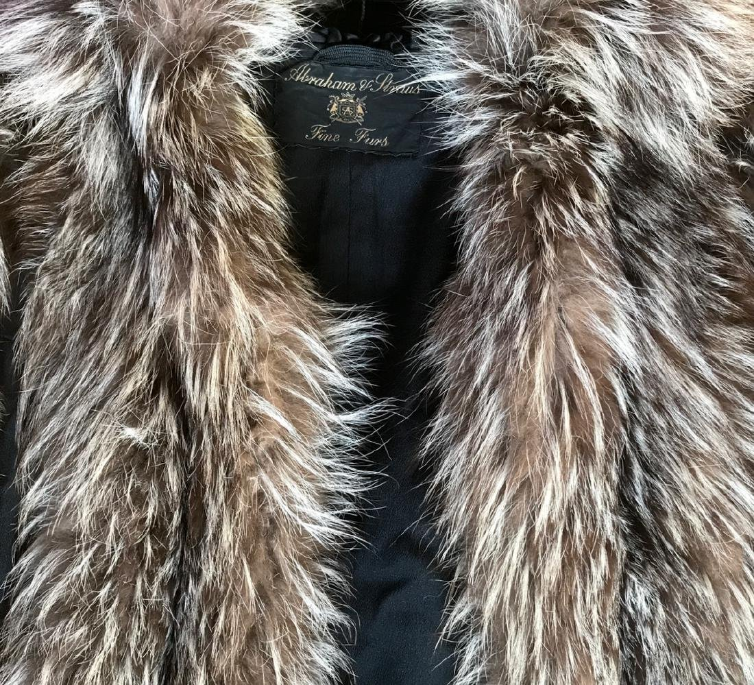 Silver Fox Swing Fur Coat - 2
