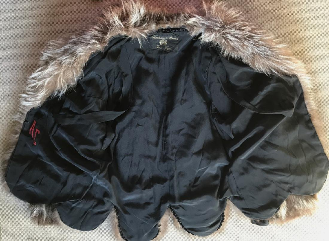 Silver Fox Swing Fur Coat - 3