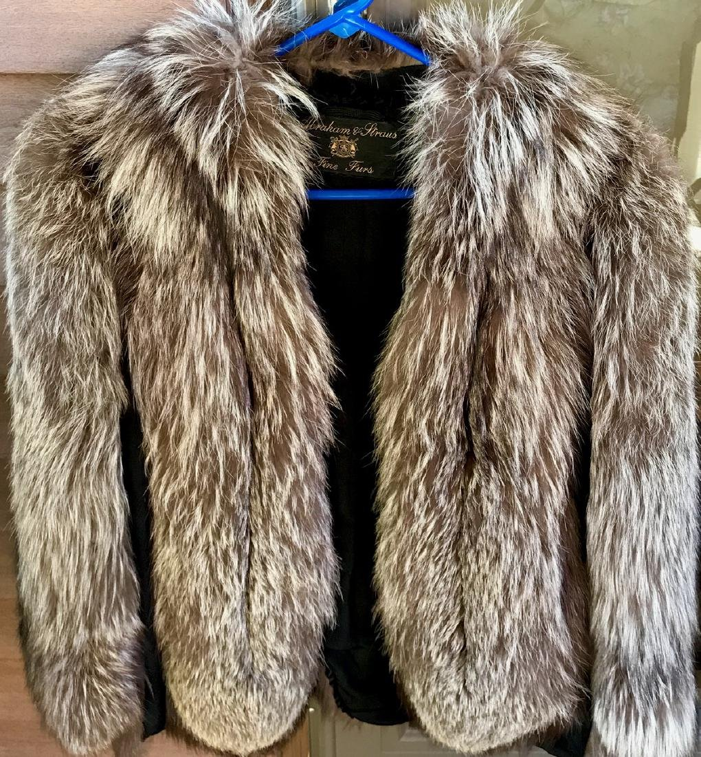 Silver Fox Swing Fur Coat - 5