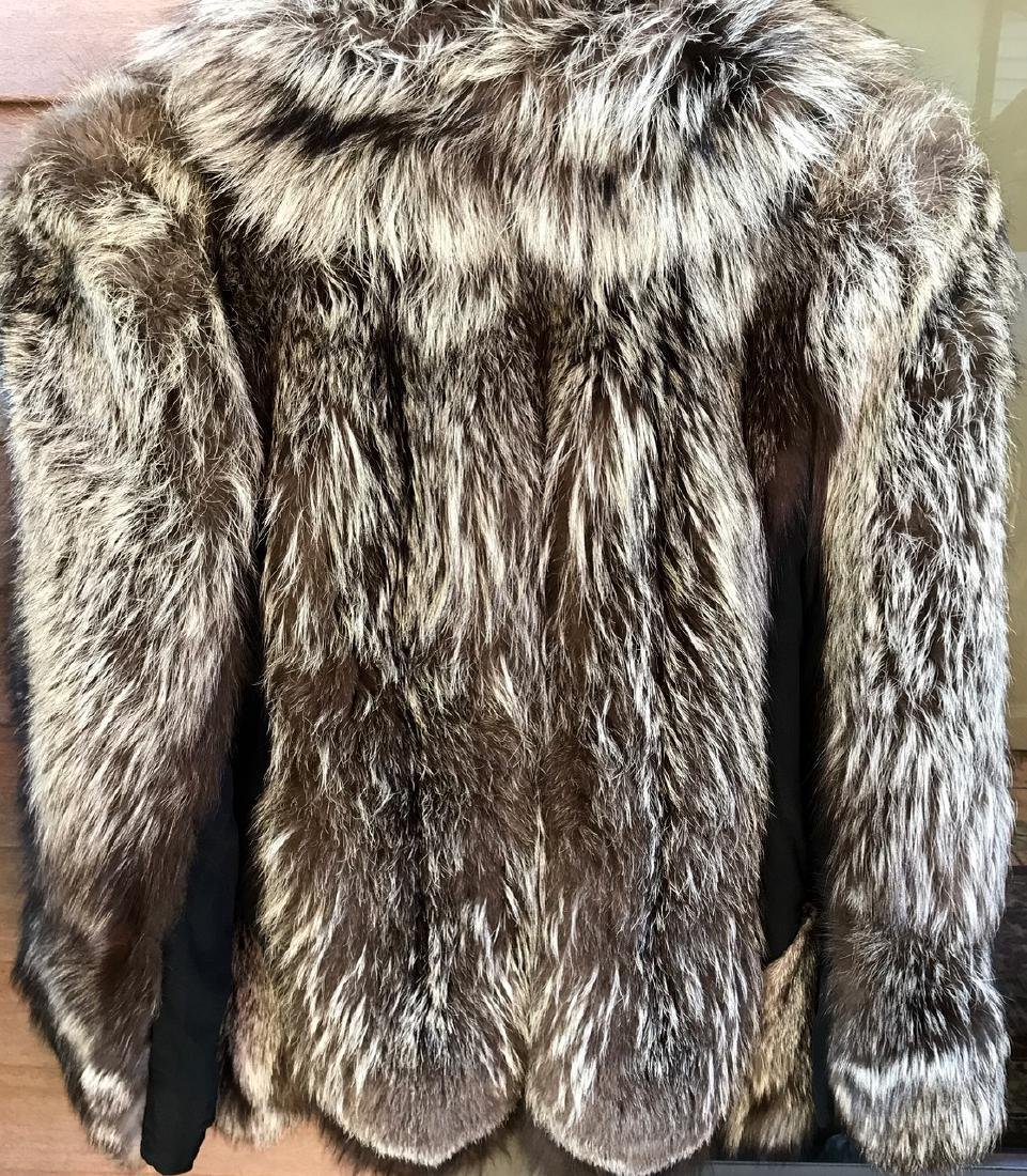 Silver Fox Swing Fur Coat - 6