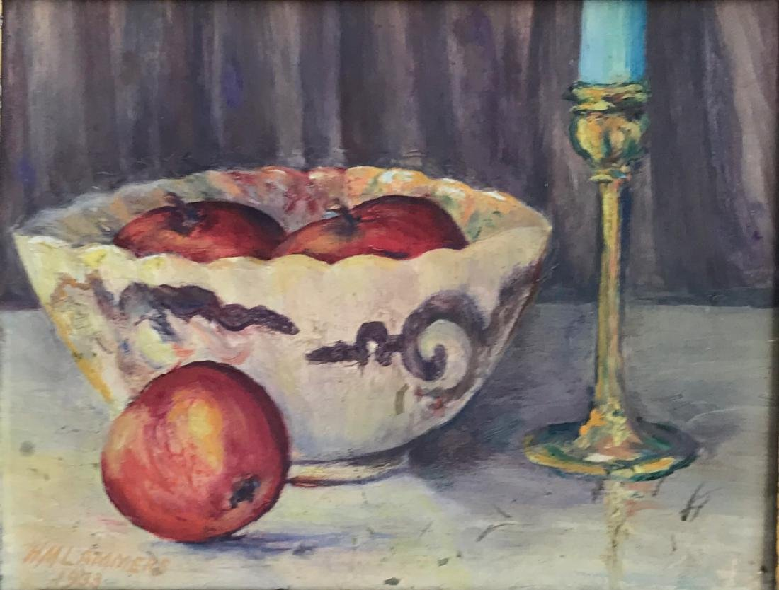 American Still Life Oil Painting, Lammers, 1933 - 3