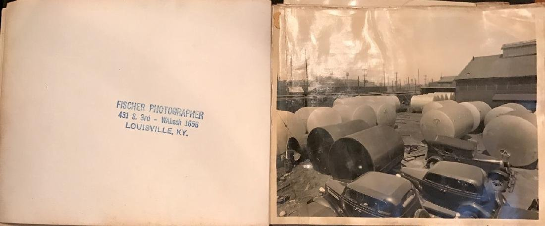 Photograph Album of American Industrial Complex, 1920's