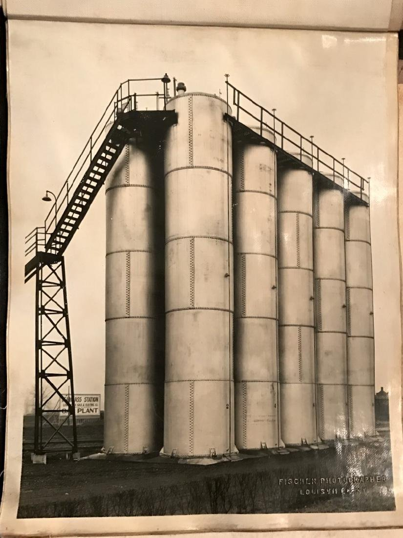 Photograph Album of American Industrial Complex, 1920's - 5