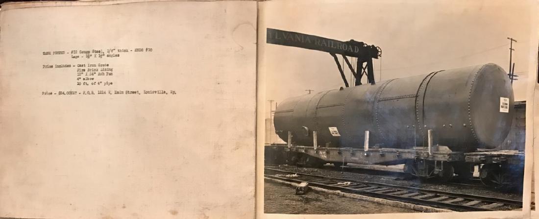 Photograph Album of American Industrial Complex, 1920's - 6