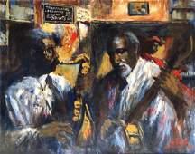 African-American Painting, Jazz Bar, Ward 1990