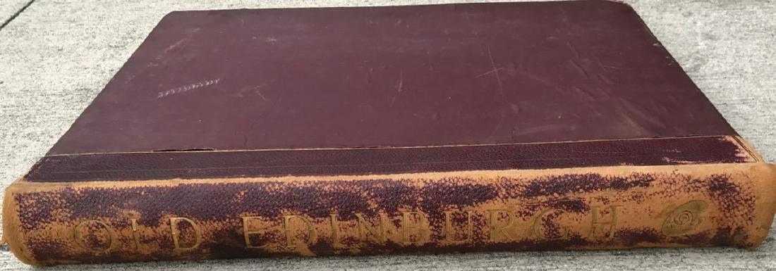 Antiquarian Book, Old Edinburgh James Drummond, 1879 - 2