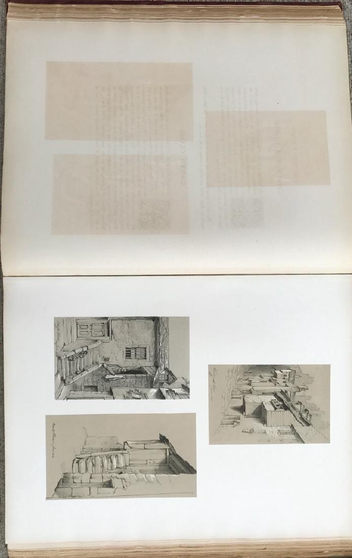 Antiquarian Book, Old Edinburgh James Drummond, 1879 - 5