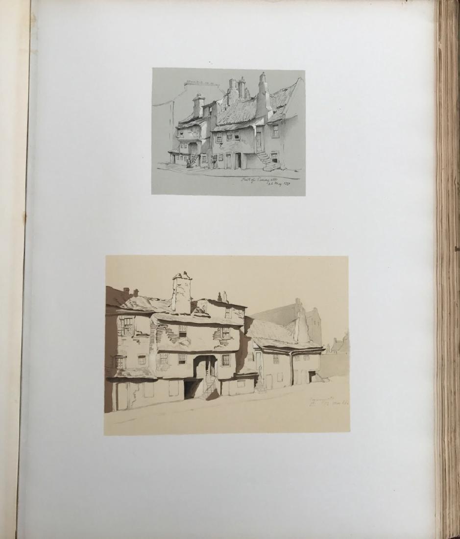 Antiquarian Book, Old Edinburgh James Drummond, 1879 - 6