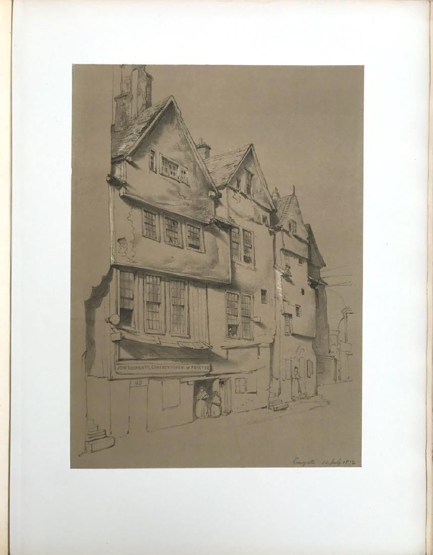 Antiquarian Book, Old Edinburgh James Drummond, 1879 - 7