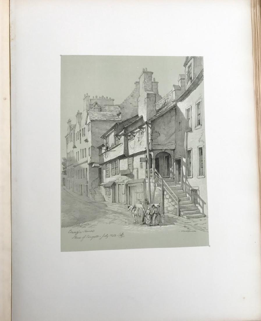 Antiquarian Book, Old Edinburgh James Drummond, 1879 - 9