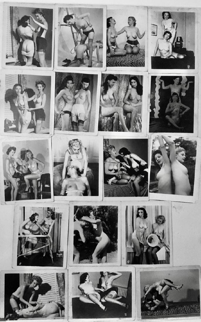 Collection of Early Female Erotic Photographs (18)
