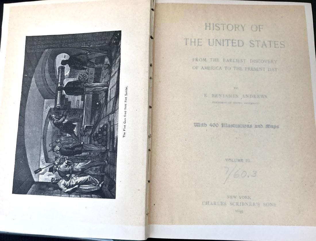 (12) Antiquarian Books, Carl Ridpath & Benjamin Andrews - 10