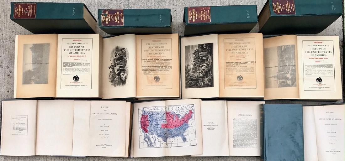 (12) Antiquarian Books, Carl Ridpath & Benjamin Andrews - 2