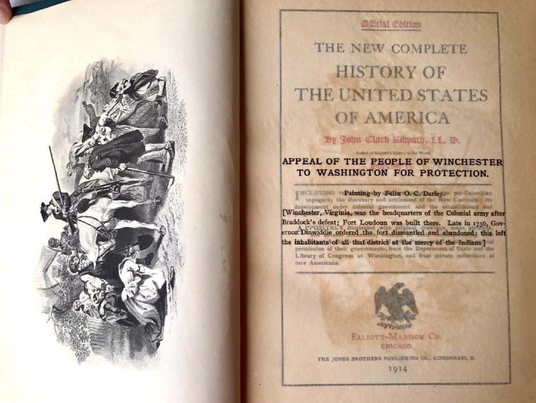 (12) Antiquarian Books, Carl Ridpath & Benjamin Andrews - 3