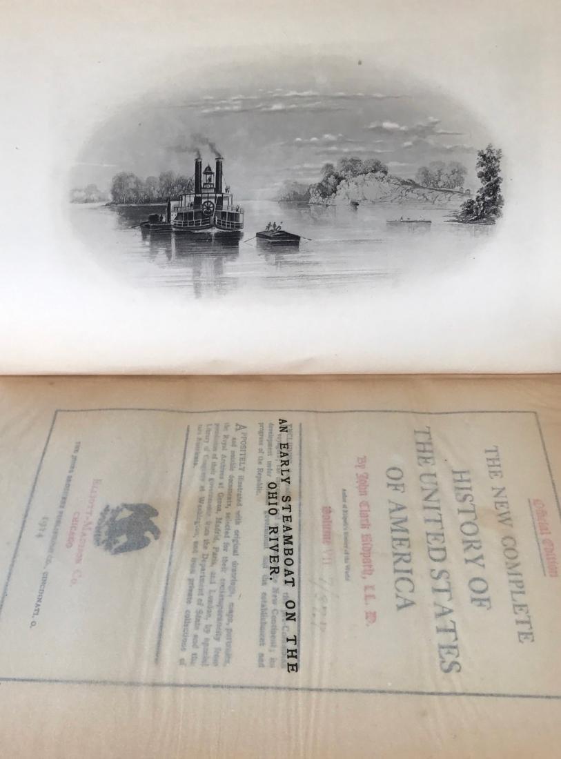 (12) Antiquarian Books, Carl Ridpath & Benjamin Andrews - 4