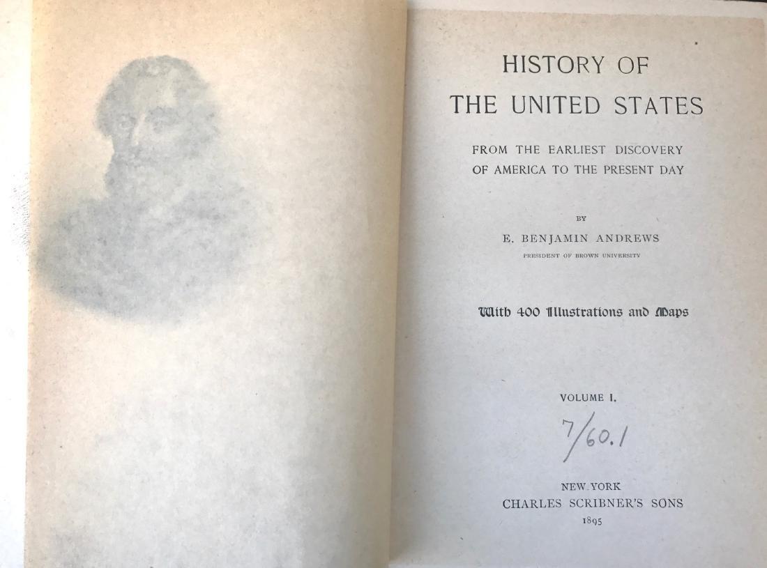 (12) Antiquarian Books, Carl Ridpath & Benjamin Andrews - 9
