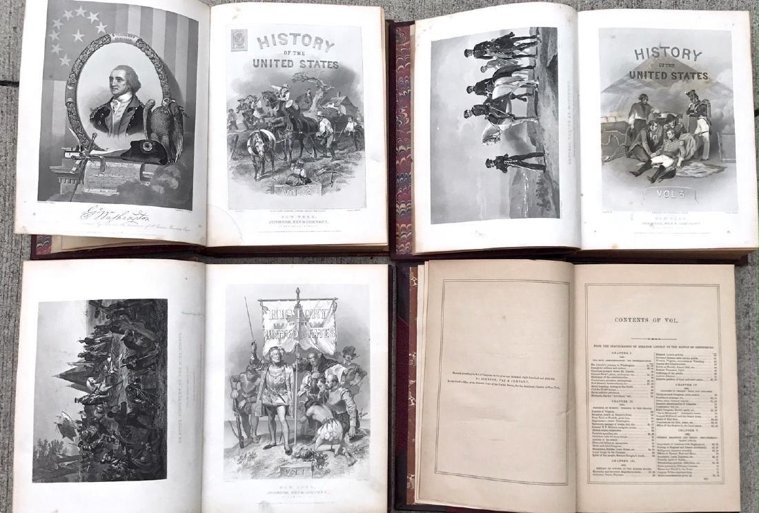 (10) Antiquarian Books, J.Spencer 1858, Schouler 1899 - 7