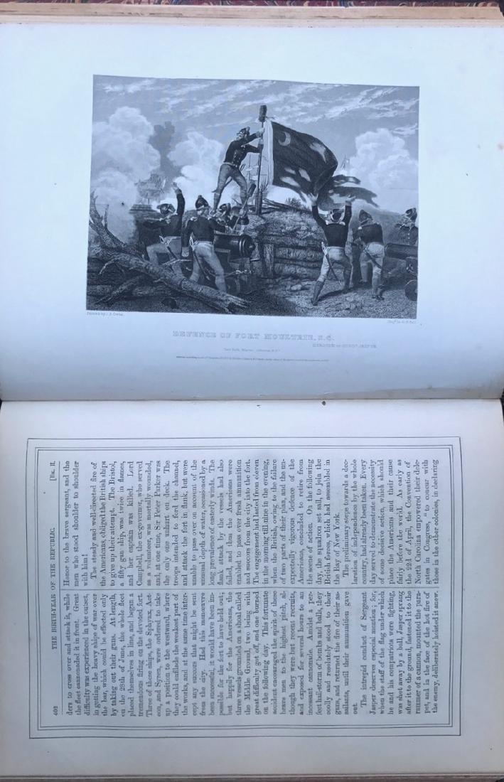 (10) Antiquarian Books, J.Spencer 1858, Schouler 1899 - 8