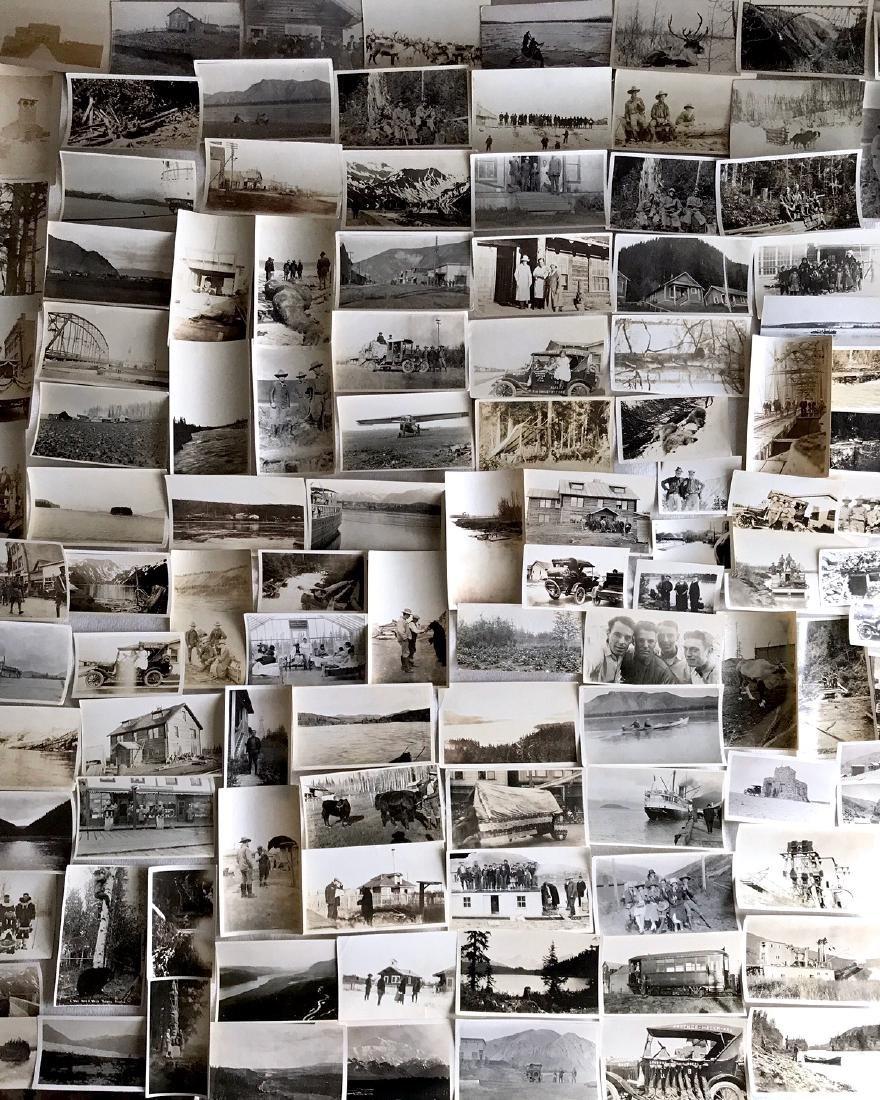Alaskan Photograph Album Pelton Brothers, 1900's (200+)