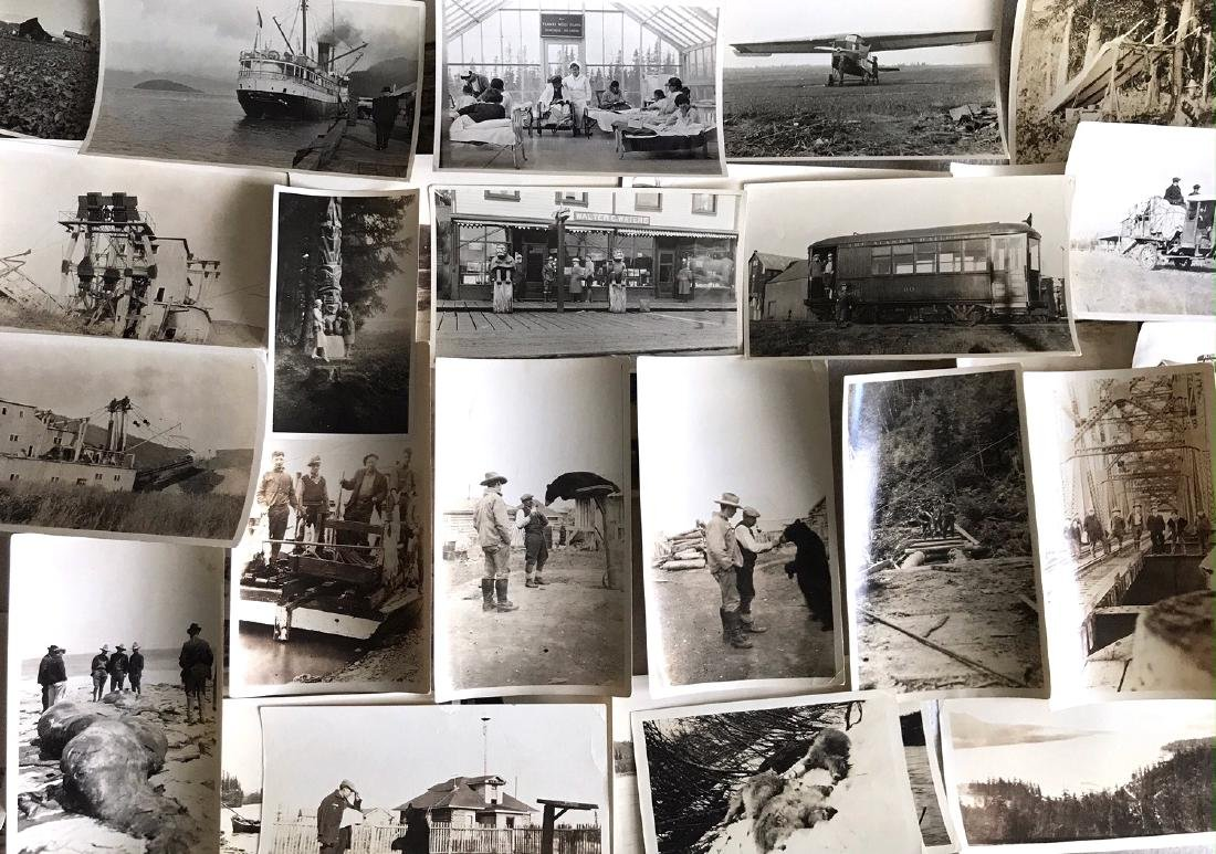 Alaskan Photograph Album Pelton Brothers, 1900's (200+) - 6