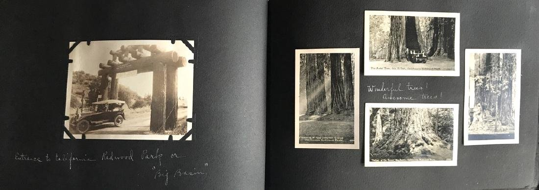 Travel Photograph Album of California ,1900's (200+)