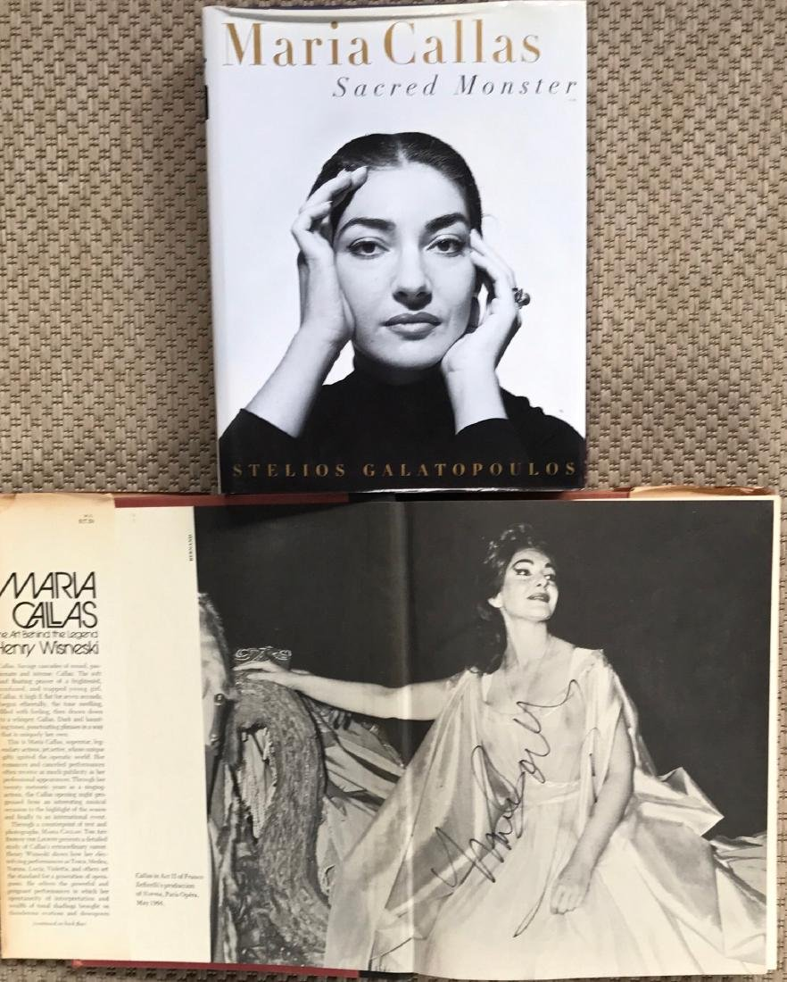 Maria Callas Autographed Hand Signed Book