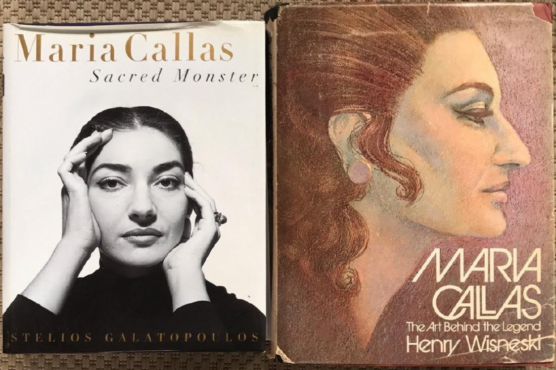 Maria Callas Autographed Hand Signed Book - 3