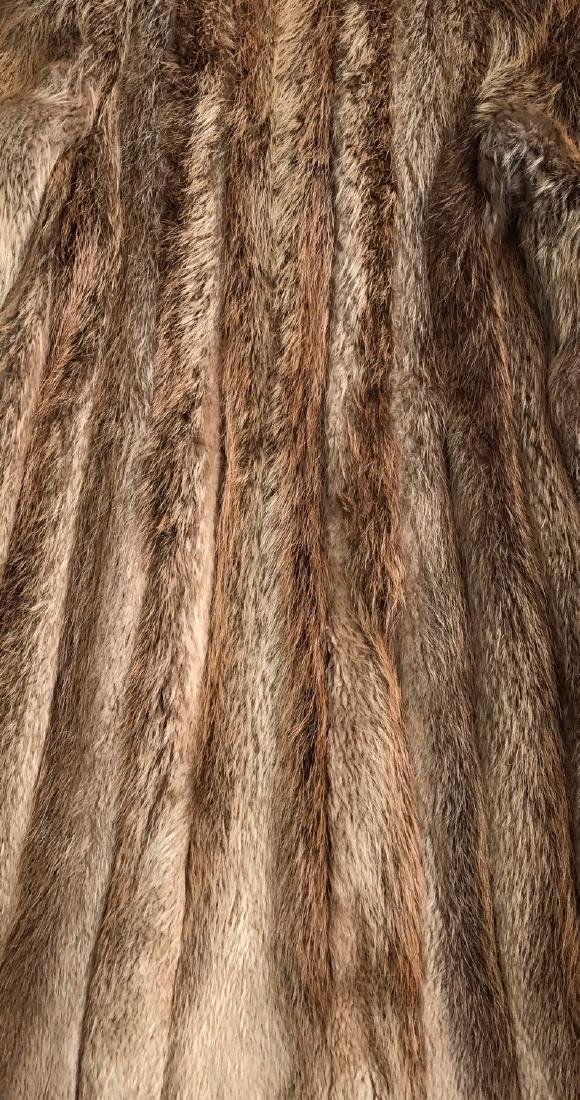 Norwegian Fox Full Length Fur Coat - 5