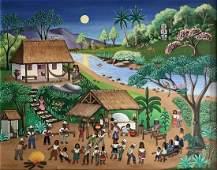 El Sanjuanero, Colombian Festival Painting, Bustos 1979
