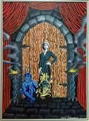 Gothic Fantastique Sci-Fi painting, T. Thierstein