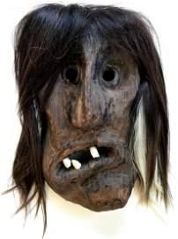Tschaggatta Carnival Mask, Switzerland, 1950's