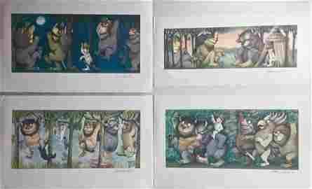 Where the Wild Things Are, Signed By Maurice Sendak