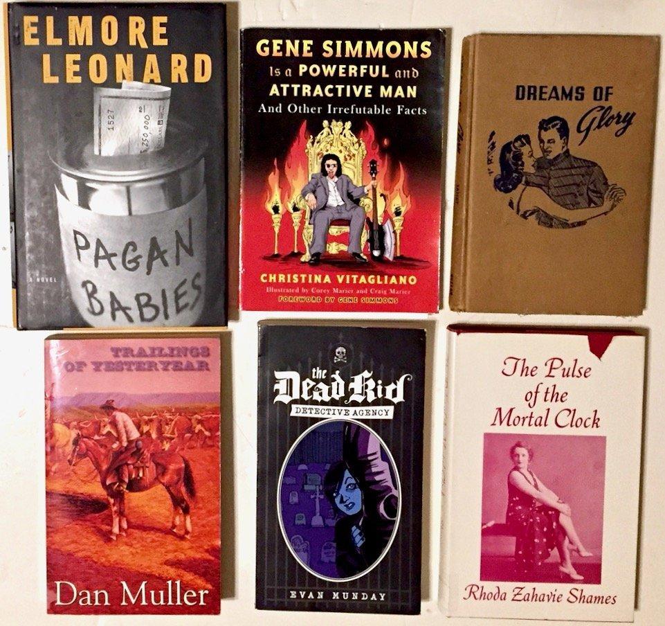 Hand-Signed Books & Drawings, Gene Simmons, Munday Etc.