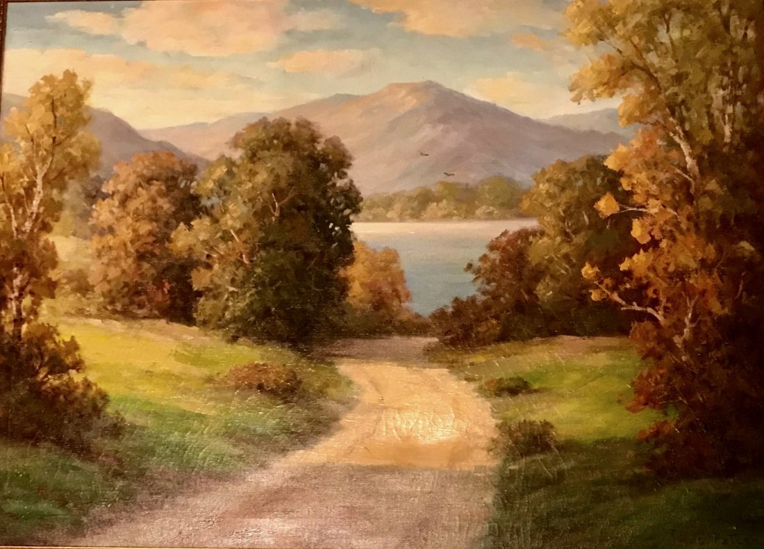 American Landscape Painting, Thomas P. Patten, 1950's