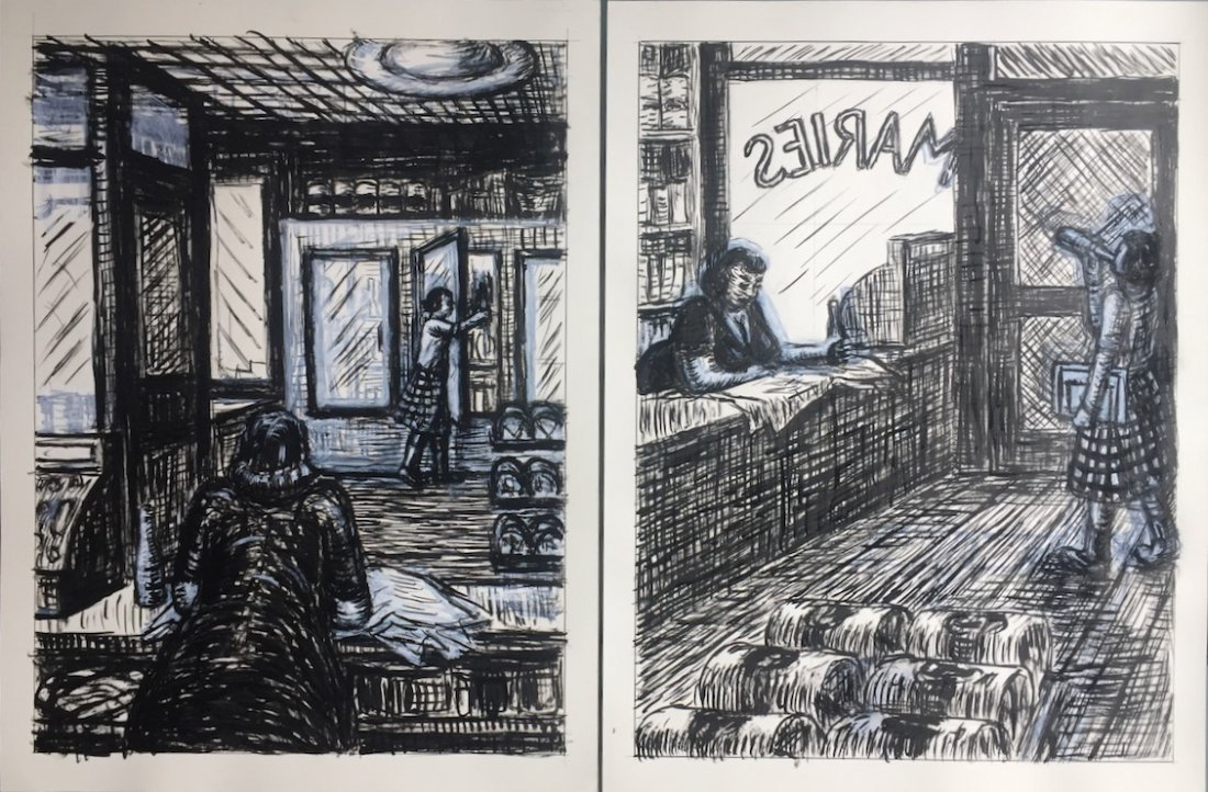 Origin Pulp Art Illustrations, Jerry Moriarty