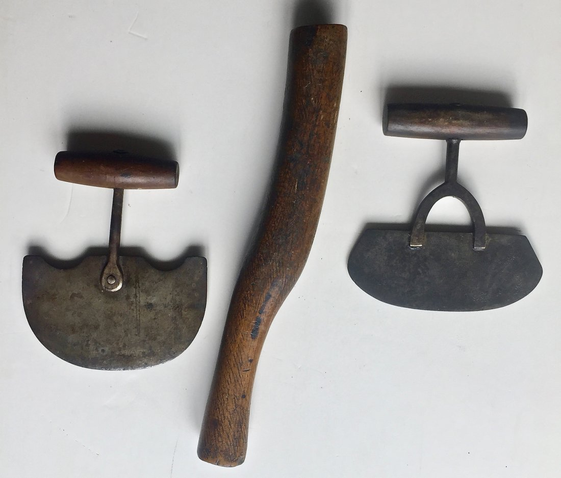 Inuit Ulu Knives And Seal Club, 19th Century