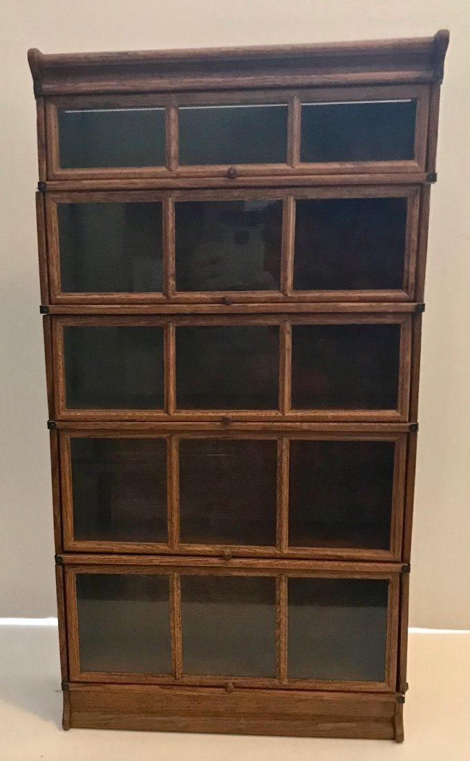 "Salesman Sample Barrister Bookcase 24"" x 12"""