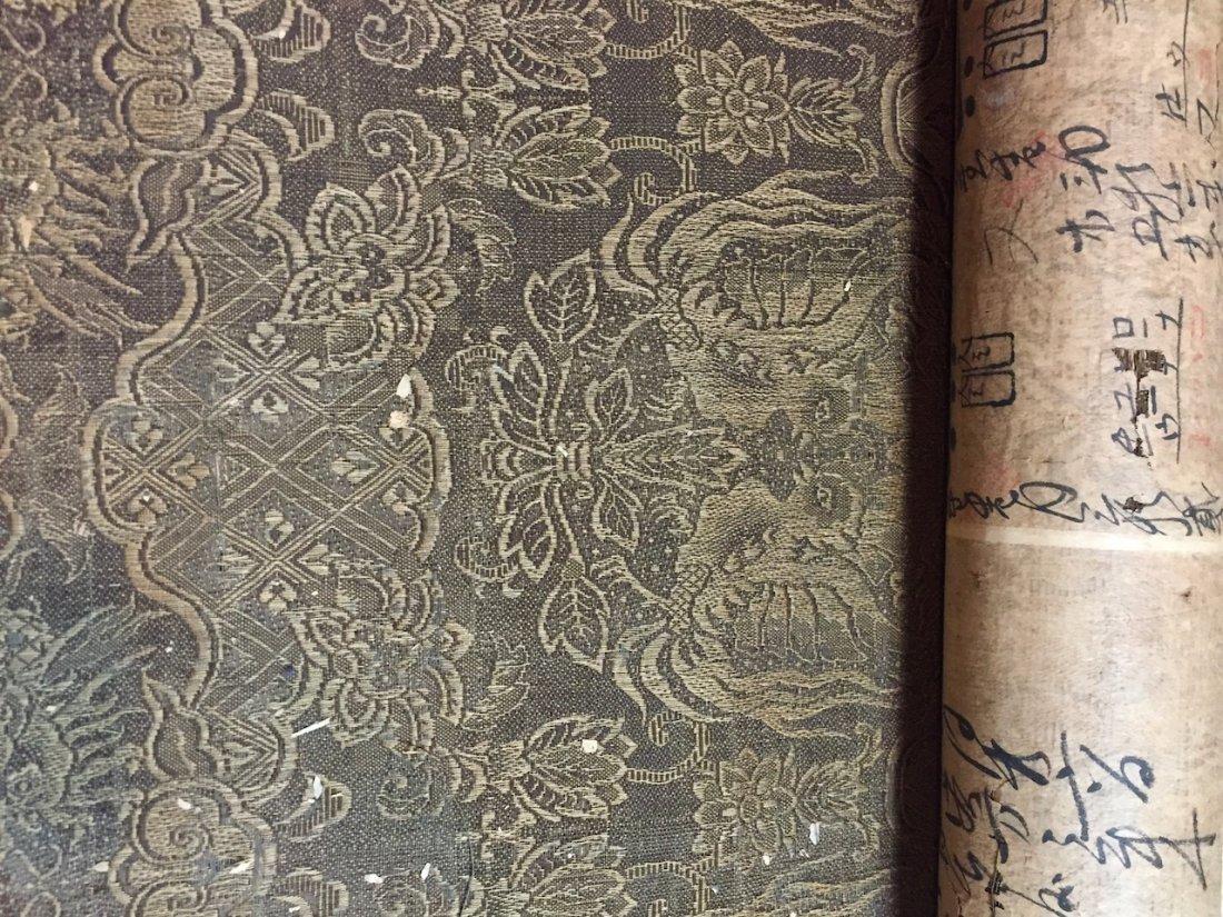 Antique Japanese Silk Textile Bolt, Japan 8ft.5in